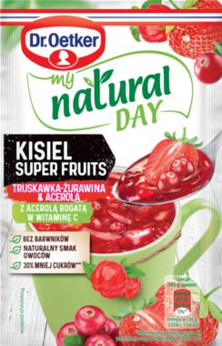 KISIEL Gelée Super Fruits Fraise-Canneberge-Acérola