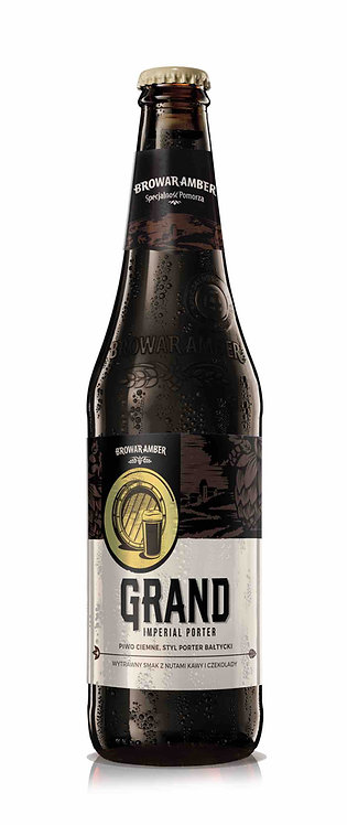 AMBER GRAND Imperial porter Bière brune(50cl)
