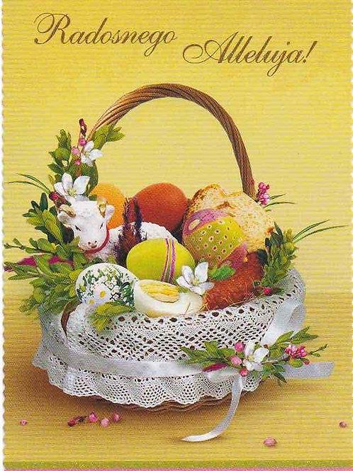 Carte postale de Pâques (P 9)
