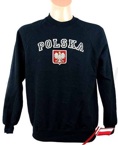 Sweat-shirt portant l'inscription « POLSKA »