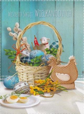 Carte postale de Pâques (P4)