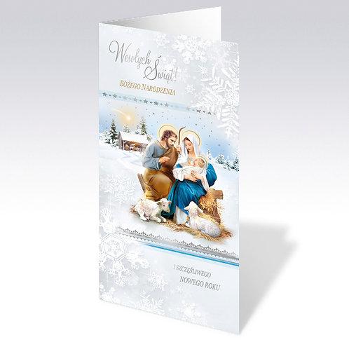 Carte postale de Noël (6606)