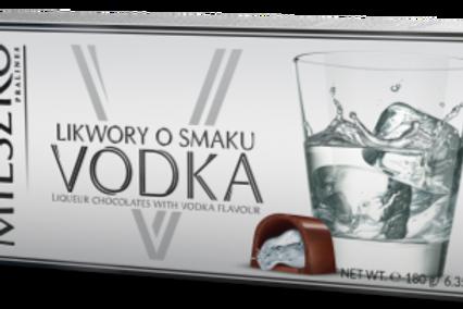 Chocolat à la liqueur au goût vodka