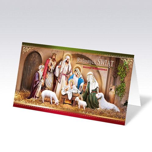 Carte postale de Noël (6607)