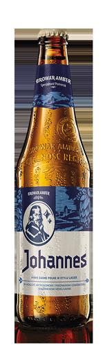 AMBER JOHANNES Bière blonde (50cl)