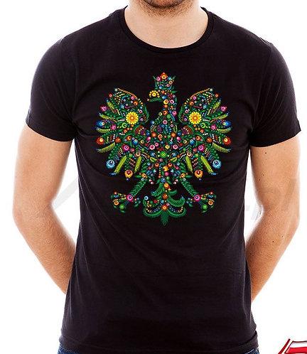 """T-shirts homme imprimés """"thème Lowicz sous forme d'aigle"""""""