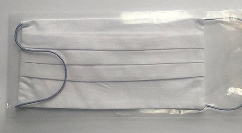 Masque lavable de couleur blanche 100% coton