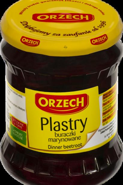 Tranches de betterave rouge   ORZECH