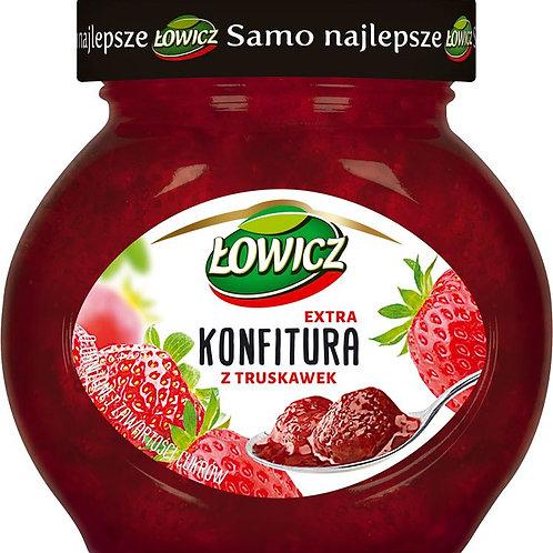 Confiture de fraise allégée en sucre