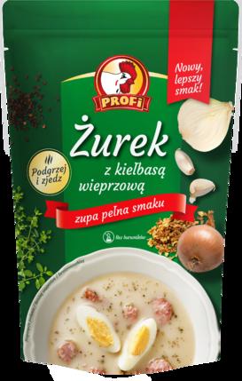Soupe de seigle aigre avec saucisse de porc (450 g)