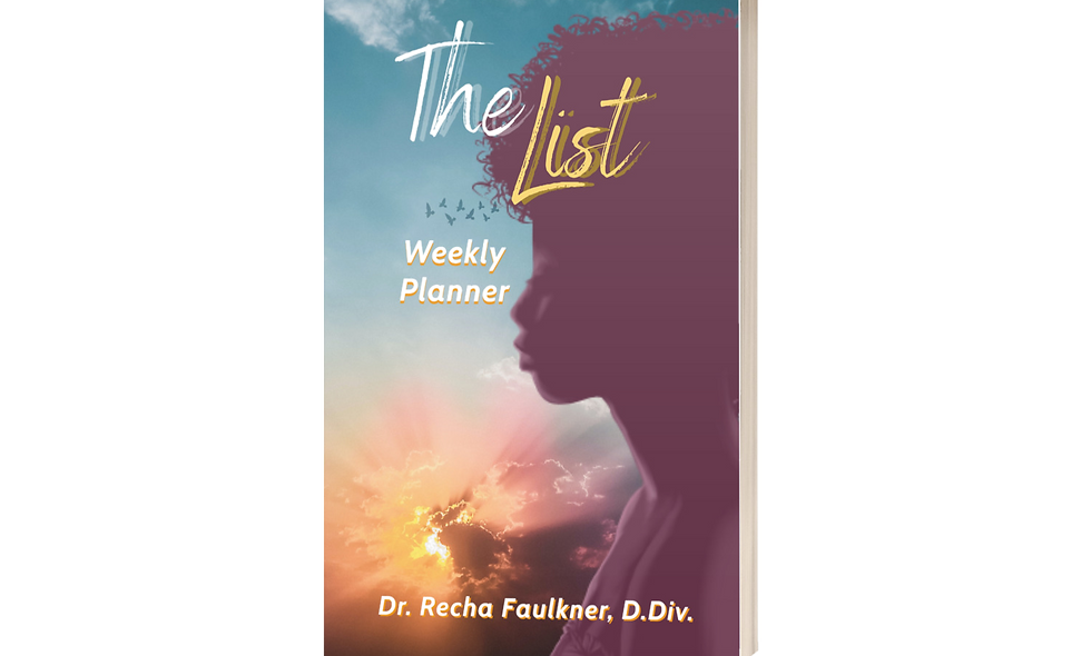 The List: Weekly Planner