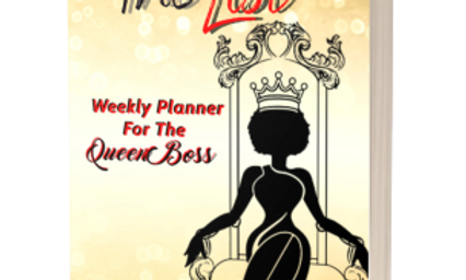 The List: Weekly Planner for the Queen Boss
