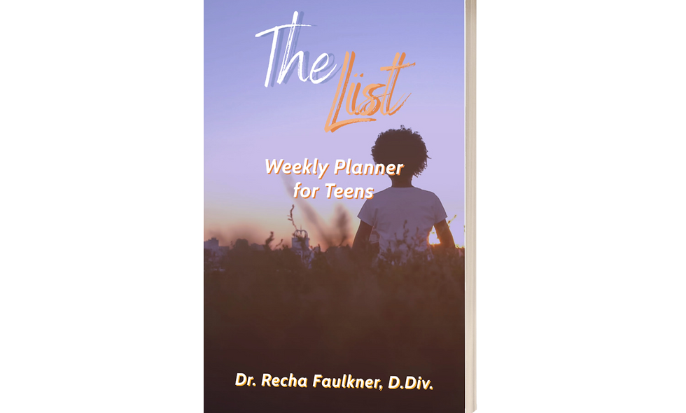 The List: Weekly Planner For Teens