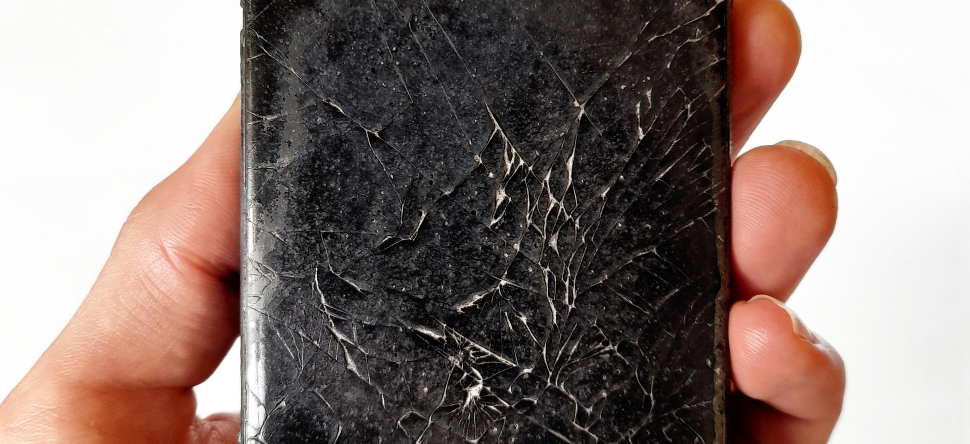 obsidian mirror [after john dee]