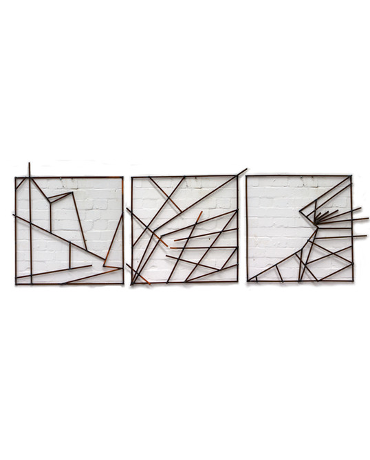 steel drawing [triptych]