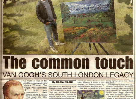 The Common Touch - South London Press - Nadia Gilani