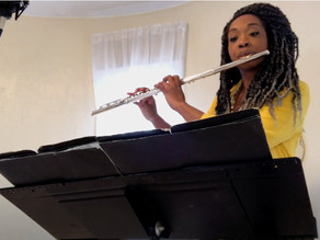 WSP Music Department Chair Dr. Brit Trotter Wins Flute Soloist Competition!