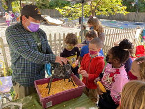 A BIG thank you to the farmers who visited our campus for Michaelmas!