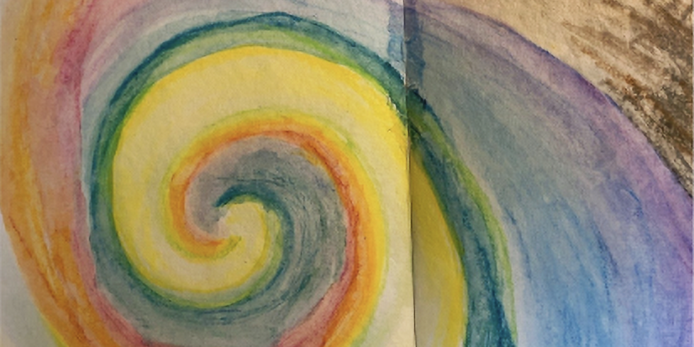 Spiraling into Form Drawing