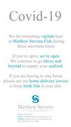 Matthew Stevens Fish - Covid-19