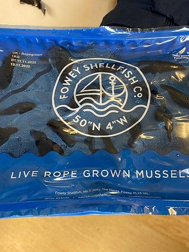Fowey Mussels 1kg