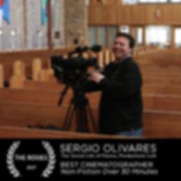 Sergio Olivares Best Cinematographer 2017