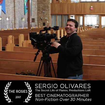 Sergio Olivares Best Cinematographer 2017