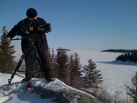 Video Production snow lake