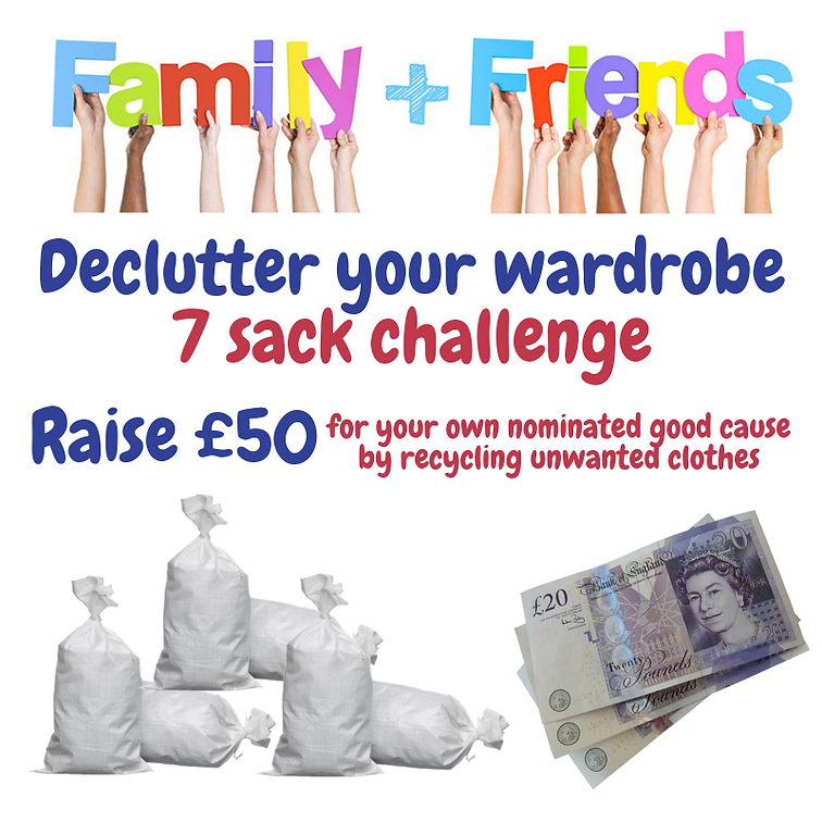 Declutter your wardrobe 7 sack challenge