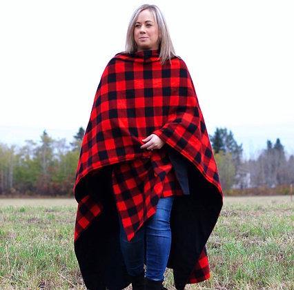 Fireside Flannel - Red Buffalo Plaid