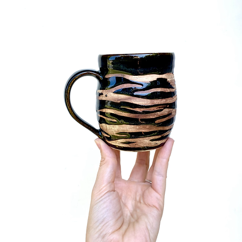 Tiger Stripe Mug, Standard Size