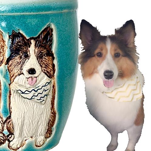 Riley RESERVED Custom Pet Portrait Mug