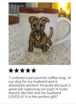 Murphy Pet Portrait Mug