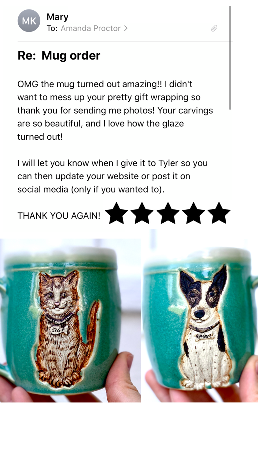 Birthday Gift Pet Mugs