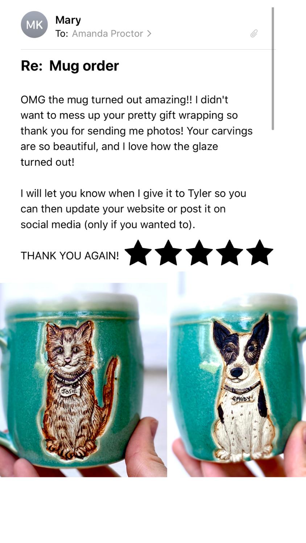 Birthday Gift Pet Mugs