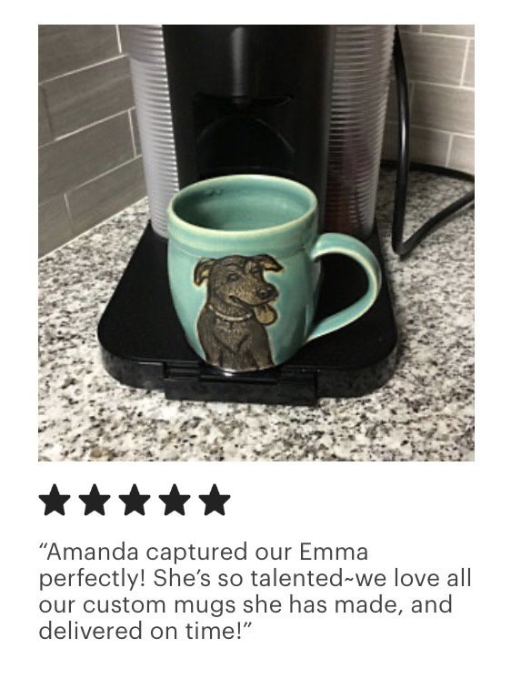 Emma Pet Portrait Mug