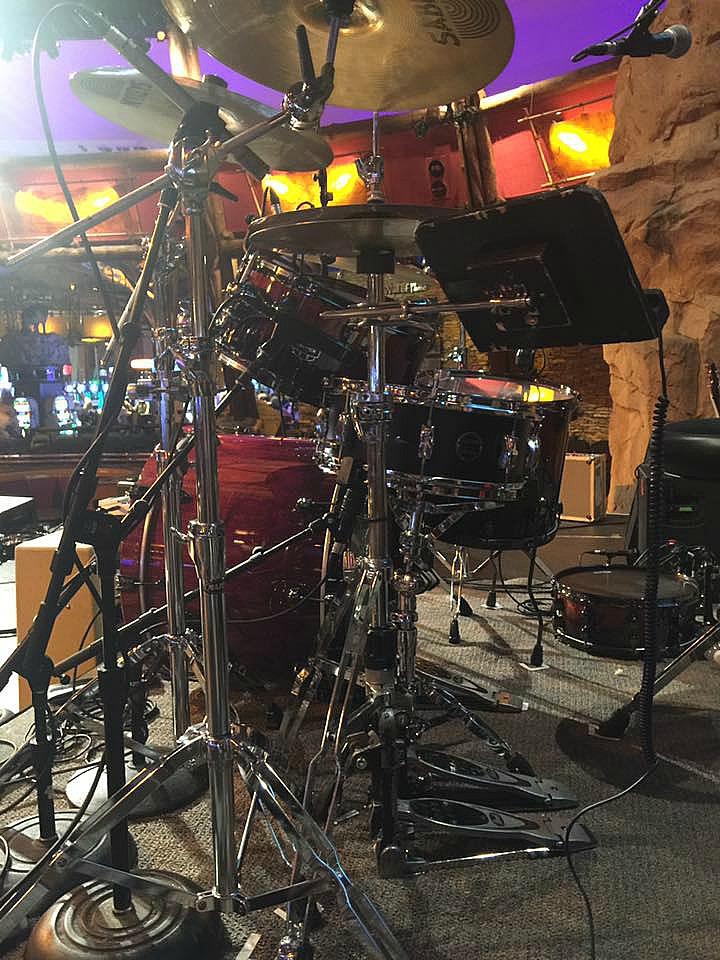 Scott Thompson's kit-Live with Collin Raye-Mohegan Sun-Beier 1.5 Steel--5.5 x 14...