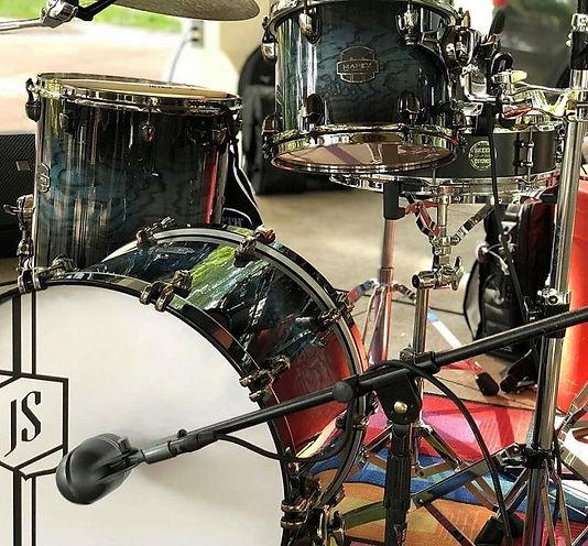 Jeremy Schreifels live kit on the road-S
