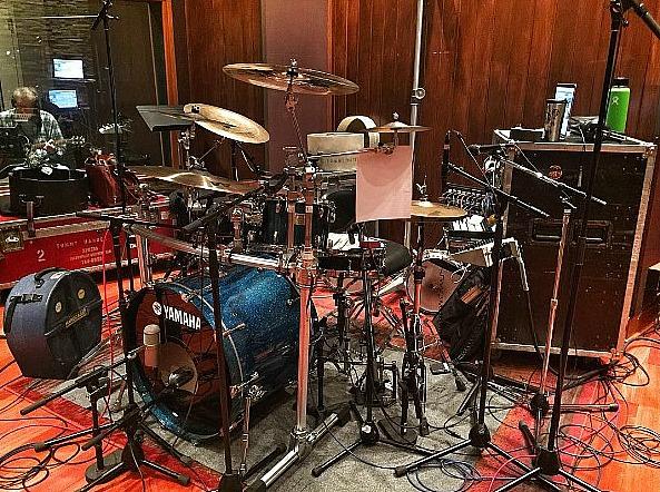 Tommy Harden's kit-Front Stage-Nashville-2017-Beier 1.5 Steel--4 x 15