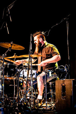 Dennis Boisvert- Live at Tail Creek Music Festival-Beier 1.5 Steel-6.5 x 14. Image by Danny Paiement