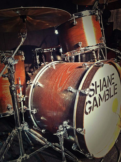Mike Dawson's kit-Live with Shane Gamble-Frederick, Maryland-Beier 1.5 Steel--6.5 x 15...