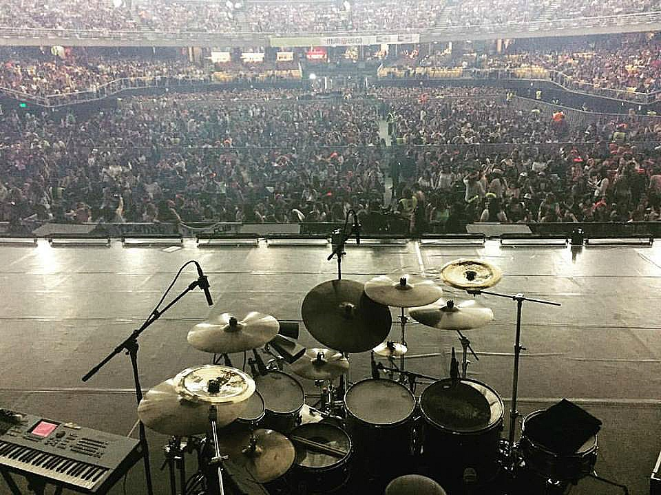 Tony Escapa-Movistar Arena-Santiago, Chile-Ricky Martin One World Tour-1.5 Steel--6.5 x 14..