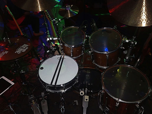 Thomas Nussbaum's kit-Feeling Floyd live