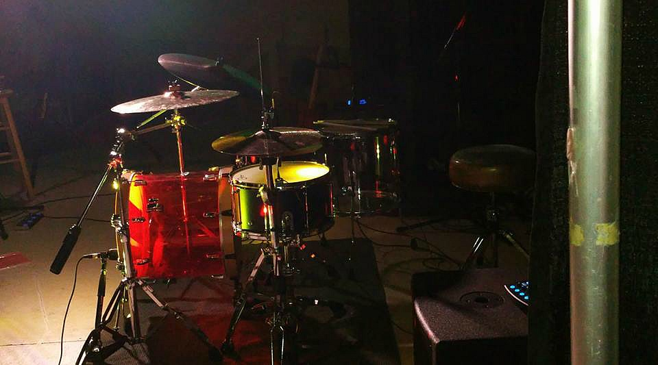 My brother Theo Brown's live kit-Saskatoon-Canada-1.5 Steel--8 x 15~