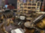 Todd Sucherman's (Styx) kit in his studi