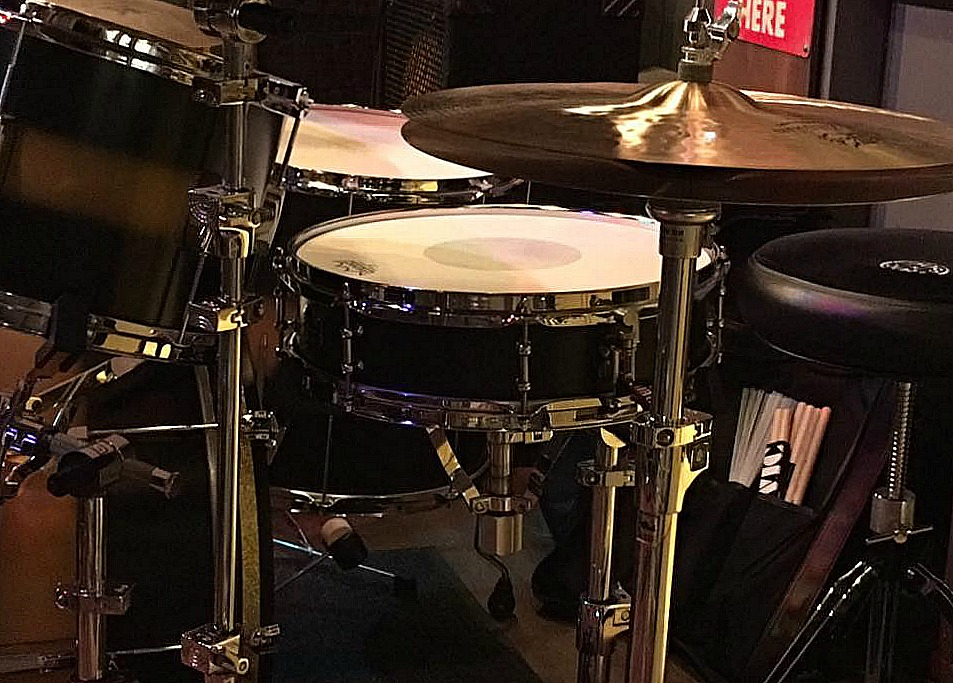 Larry Mitchell's Beier 1.5 Steel--4 x 15 at Shanghai Red's, L.A., Barry Baughn Blues Band.....