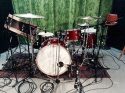 Achim Faerber's studio kit-Berlin-Recording a Radioplay-January 2017-Beier 1.5 Steel--5.5 x 14-