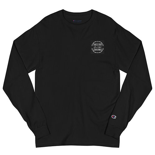 Embroidered Champion Long Sleeve Shirt
