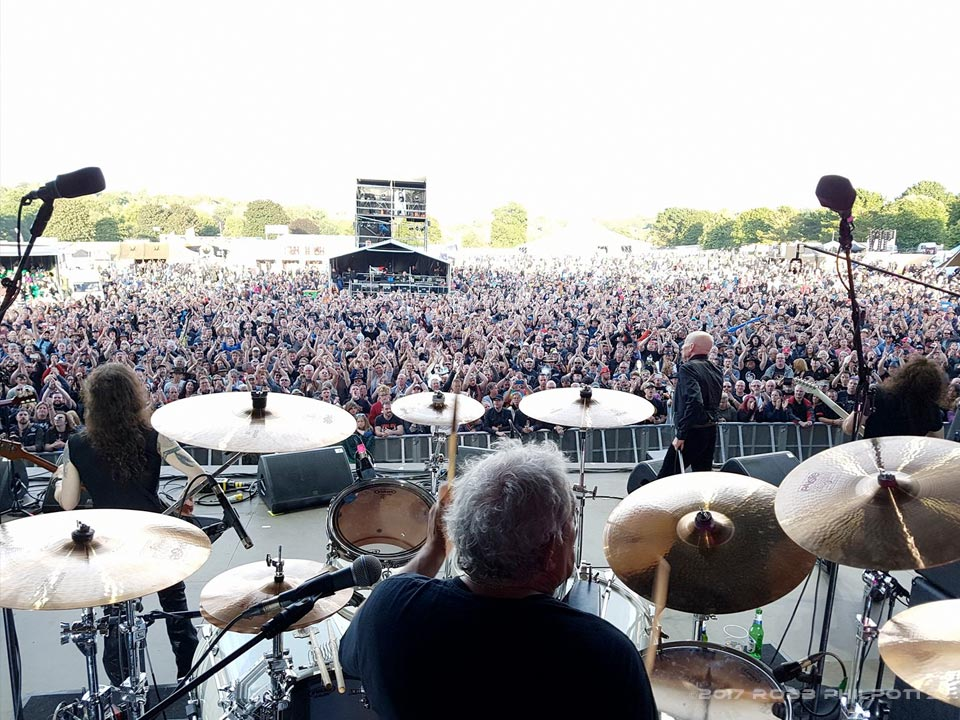 UFO Live-Ramblin Man Fair 2017-England-Andy Parker & his Beier 1.5 Steel-8 x 14-Image-Robb Philpotts