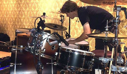 Kendall Kramer preparing  Keith Zebroski's kit-2016 CMA Awards-Miranda Lambert-1.5 Steel-6.5 x 14